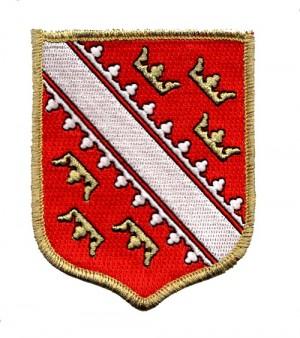 Patch blason  d'Alsace