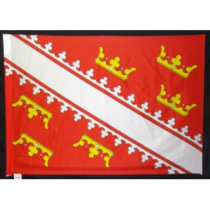 Wappenfahne / Drapeau armoirial